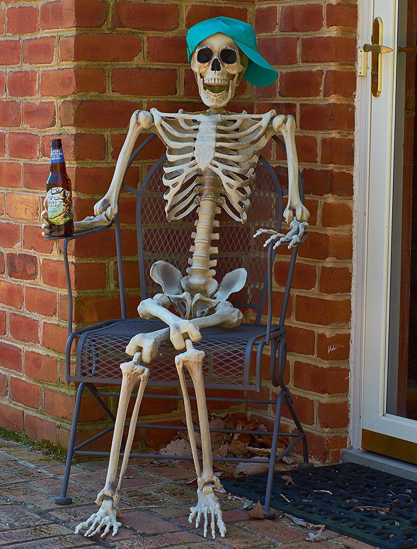 Скелет прикольная картинка, открытки днем рождения