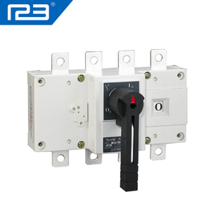 250A 4P Manual transfer switches Load Isolation Manual changeover switch