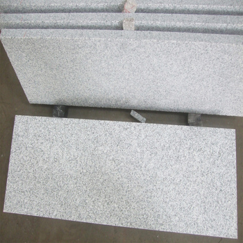 Cheap Outdoor Floor Tiles Flamed Chinese Arctic White Granite Price