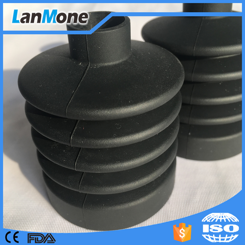 Rubber dust covers/steering rubber bellows by EPDM or silicone