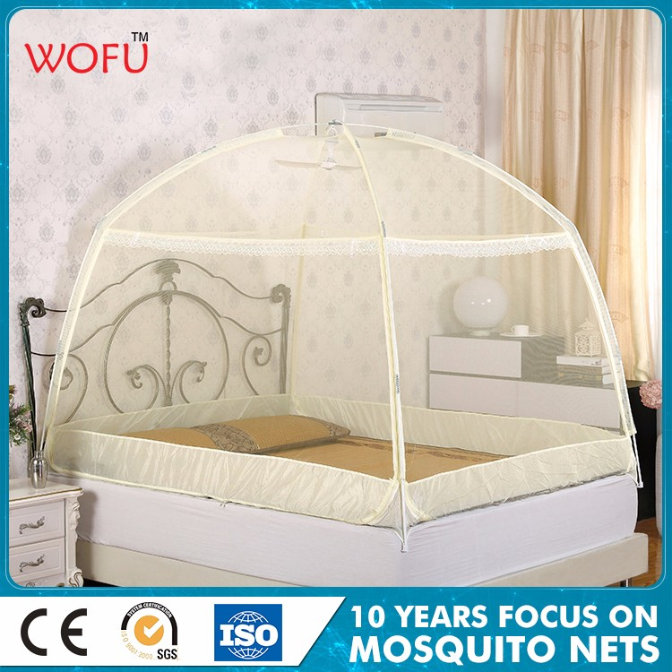 Wholesale Soft Mosquito Net Tent For Two Size Bed