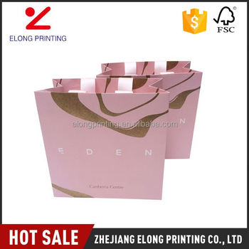 Best Ing Trendy Style Cute Pink Gift Paper Bags Bulk With Reasonable Price