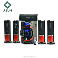 Good Music system sd card portable speaker with solar