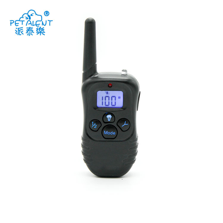 Serviceable rechargeable and waterproof remote dog training collars,dog training dummy
