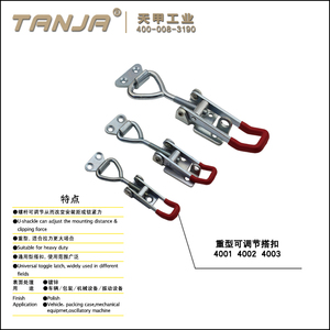 [TANJA] toggle clamp for railway / pneumatic toggle clamps