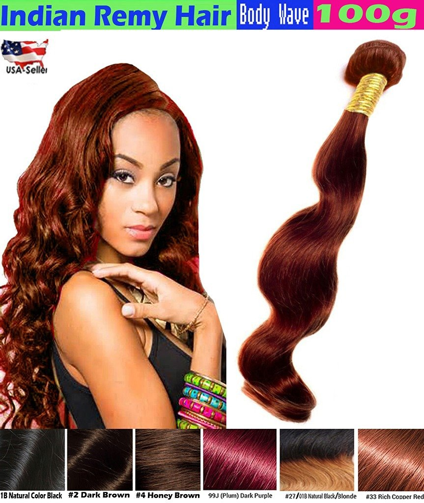 Get Quotations 1 Best Er Ecowboy Body Wave Indian Human Hair 6a Bundle Weave Extensions Great