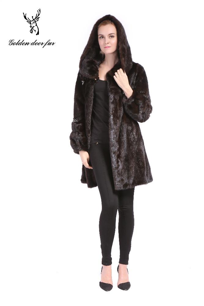 2017 The Latest Brown Short Mink Coat - Buy Mink Coat,Fashion Mink ...