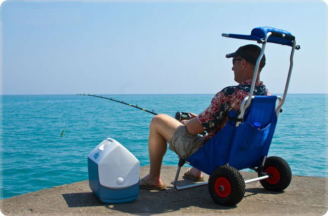 Fishing Trolley Amp Folding Beach Dolly Amp Baggage Carrier