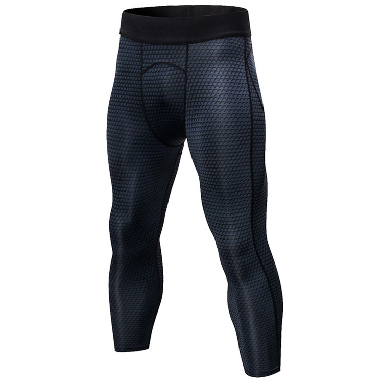 workout clothing compression tights snake skin 3d printing sexy mens leggings