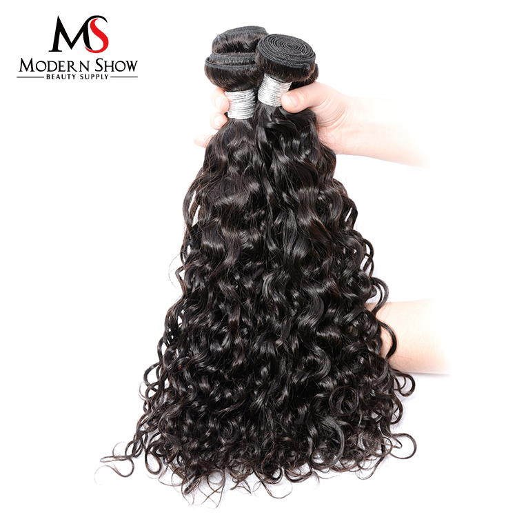 9A Grade Cuticle Aligned Water Wave hair, Brazilian Water Wave Hair Extensions, Double Drawn Water Wave Hair Weave
