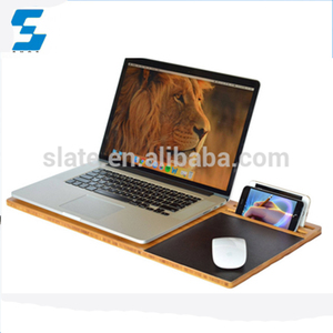 Retro Style Wood Bamboo Laptop Slate Mouse Pad