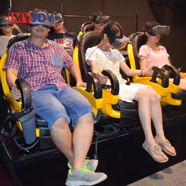 Hot selling 3d shooting hall vr cinema vr simulato+car 7d cinema with vr glasses