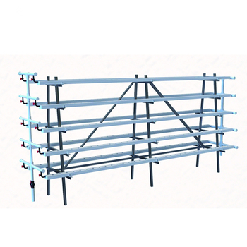 Square Pipe Hydroponic Pvc Channel System Vertical Hydroponics