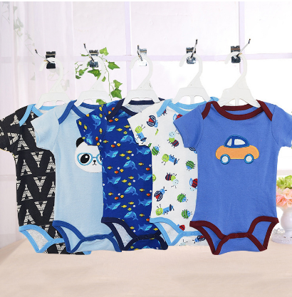 Organic cotton baby clothes 3 6 9 12 18 24 months infant clothing toddler boy girl wholesale carters baby bodysuit