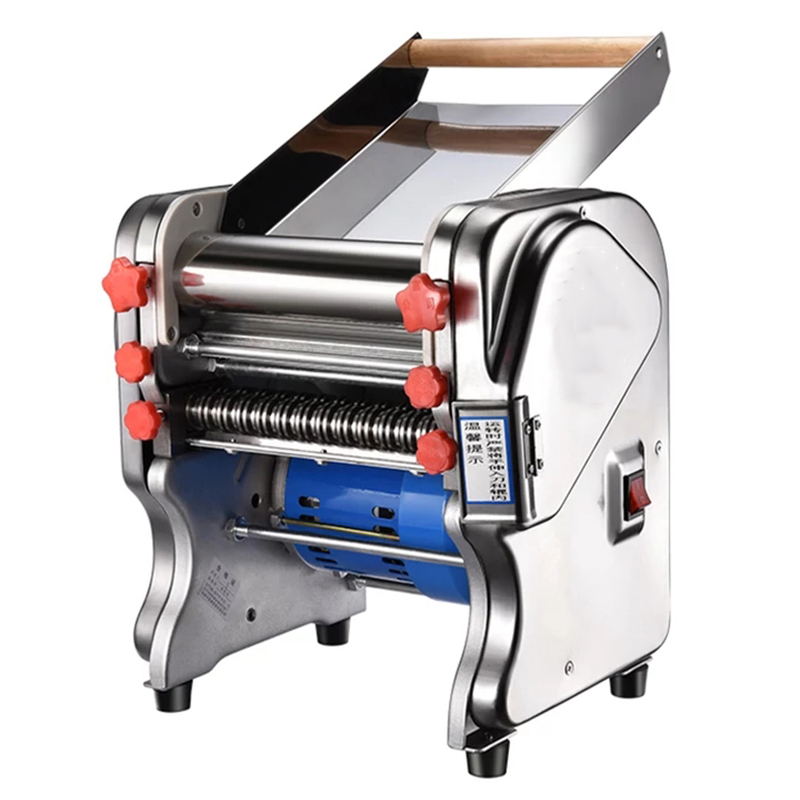 2019 newest design top quality electric noodle making machine dough roller pasta maker noodle cutting machine