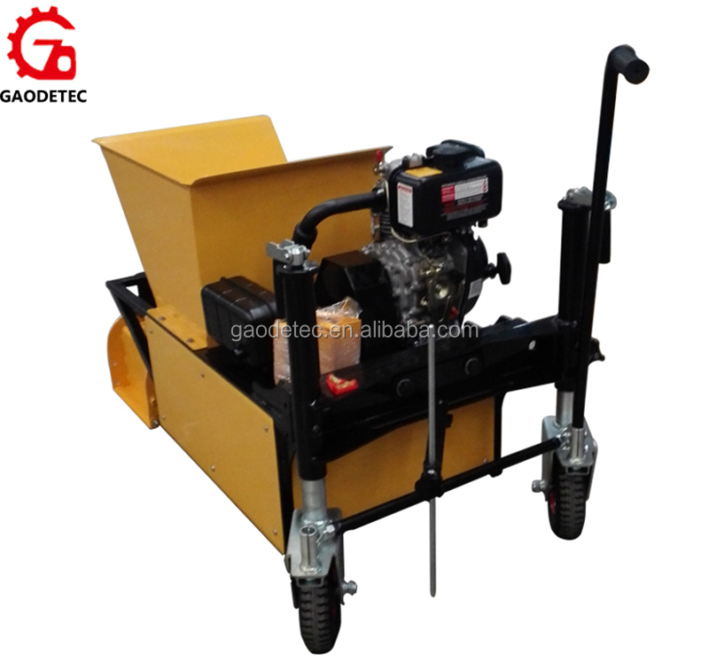 Best For Sale Product GDHM11Diesel Engine Driven Concrete Curb Machine