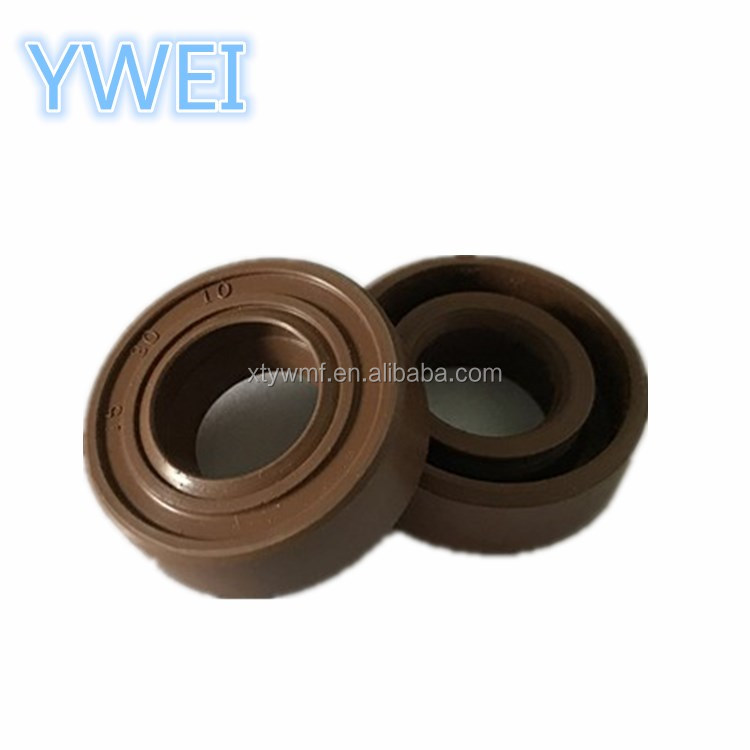 Small size no spring double lip oil seal viton oil seal pump mechanical seal