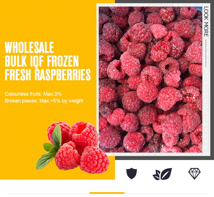 Fresh Iqf Whole Red Berry Fruits Frozen Berries - Buy Organic  Raspberries,Frozen Raspberries From China,Best Frozen Blueberries Product  on Alibaba com