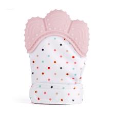 ec75b881edb0 5 Couleurs Silicone Gant de Dentition Sucette de Dentition À Croquer Soins  du Nouveau-Né de Dentition Perles Infantile BPA Livra.