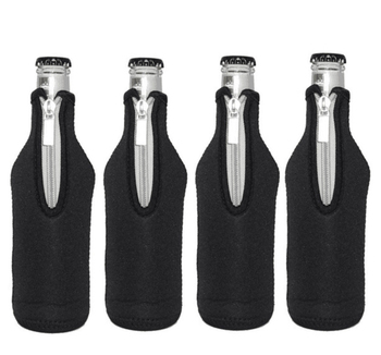 Top Quality Customized Logo And Color Waterproof Neoprene Beer Bottle Cooler Sleeve Holder