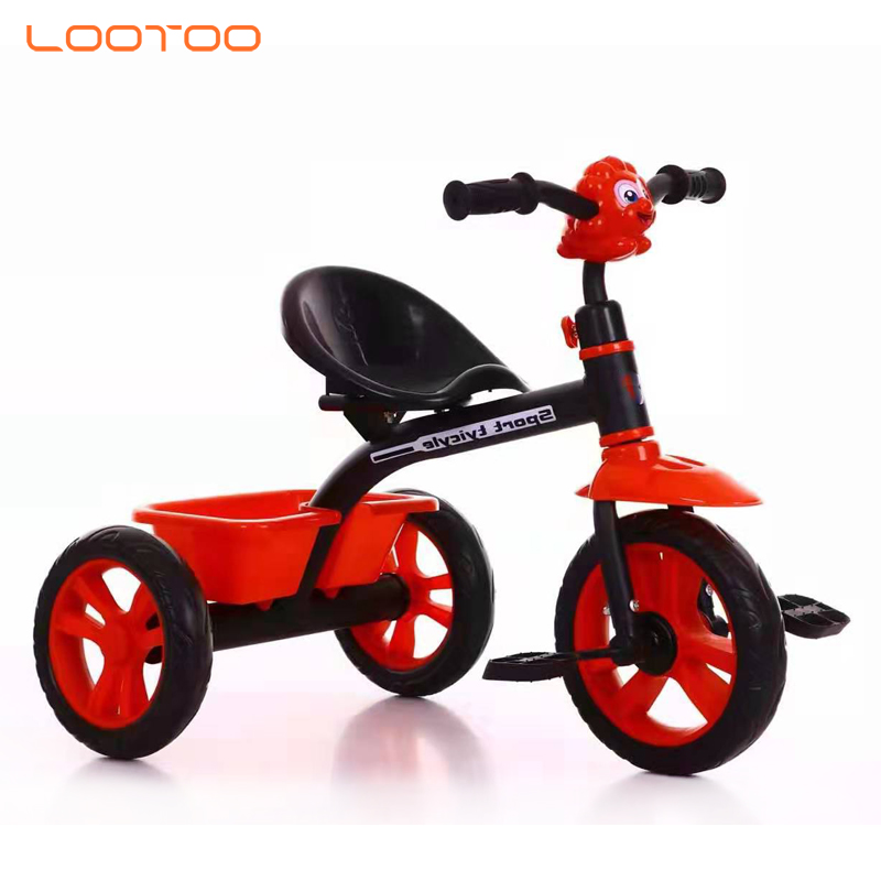 China factory hot sale 8 inch EVA tire child tricycle for sale in kenya