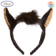 F292 Donkey Zoo Animal Ears Headband Accessory Pretend Animal Party Costumes Animal Ear Headband