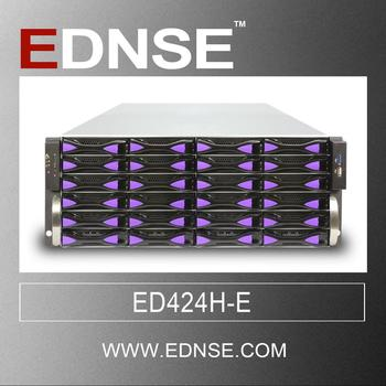 ED424H-E 4u 24 bays 19 inch rack mount chassis computer case