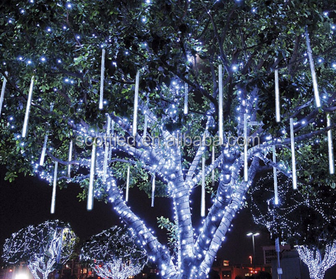outdoor led christmas meteor shower light outdoor led christmas meteor shower light suppliers and manufacturers at alibabacom - Meteor Christmas Lights