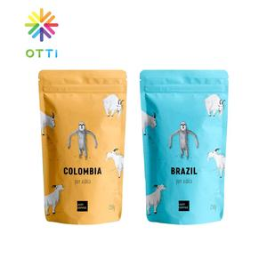 private label packaging pouch custom print plastic bag low moq