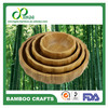 All size fashion wave grain edge Bamboo Lacquer Bowls, bamboo fruit bowl, bamboo salad bowl
