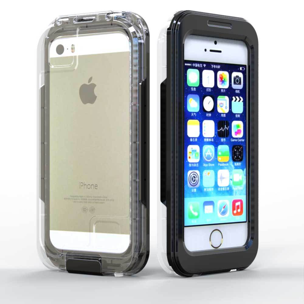 Hot Selling Factory IP68 Waterproof Case For Iphone 5 Shockproof case