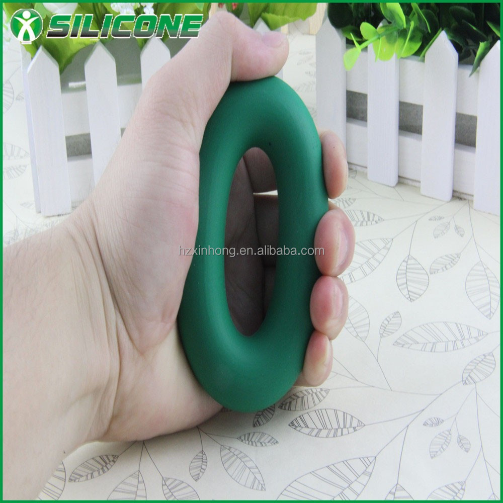 Power exercise training silicone hand grip/finger exerciser