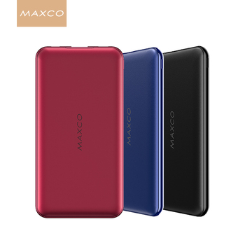 MAXCO Best mobile Power Bank Quick Charge portable powerbank 10000mAh