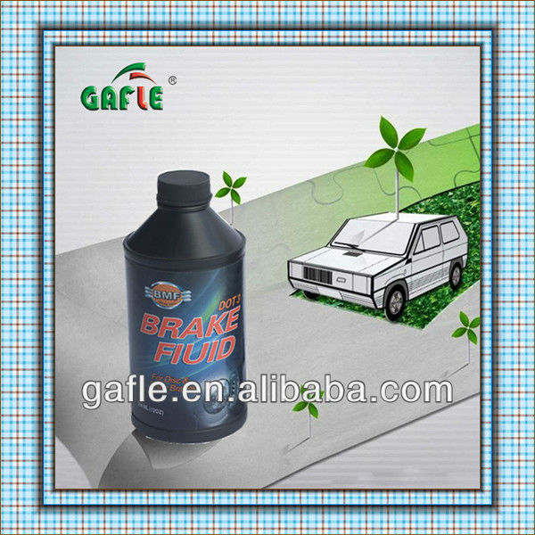 brake fluid 354ml plastic bottle