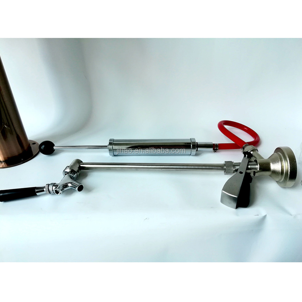 Party Pump vs. Keg Coupler Beer Keg Tap Converter for Beer dispensing фото