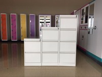 luoyang shengwei factory sale 4 small drawer file cabinet metal