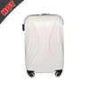 2017 ABS PC Film Hard travelling trolley Luggage Bags And Cases