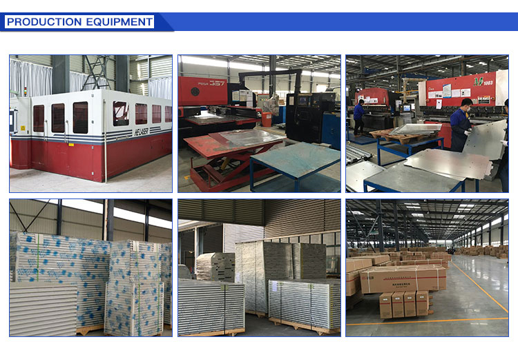 Success Way GMP Certified Customized Lightweight Partition Clean Room Wall Panels
