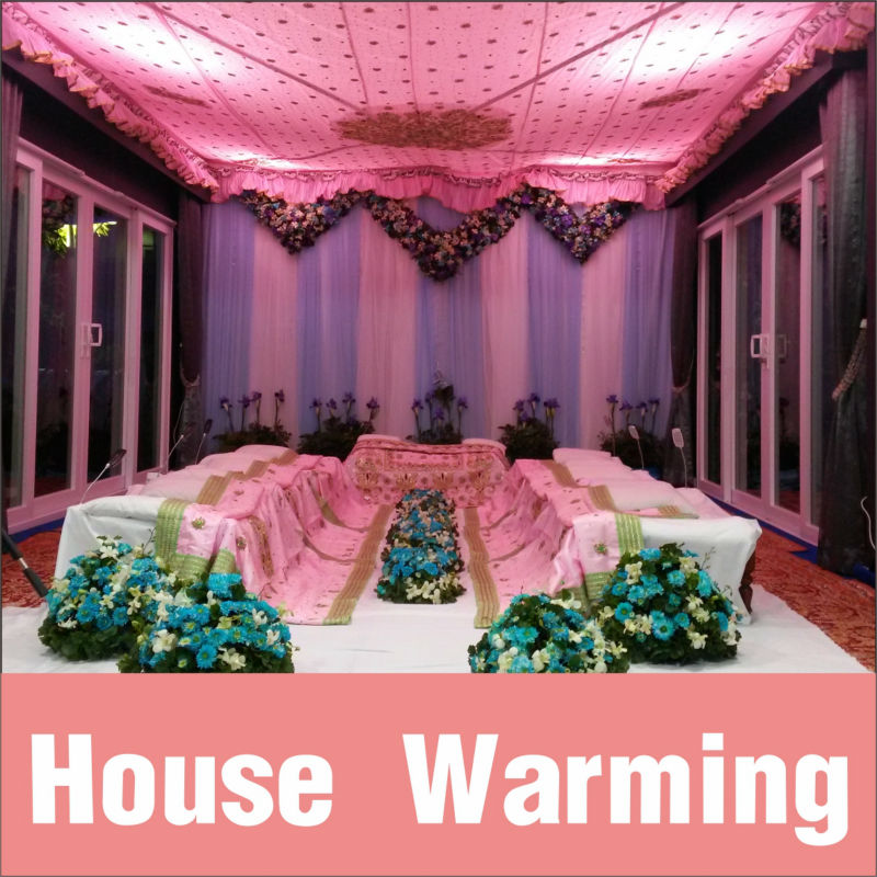 House Warming Decoration / Events management / Decoration / Catering
