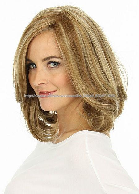 Парик для женщин из натуральных волос фото