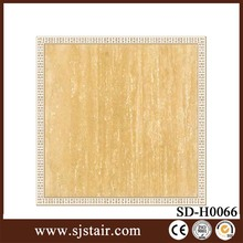 cheap yellow ceramic tile artificial marble floor tiles /porcelain flooring