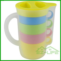 New wholesale market plastic drinking cup with handle