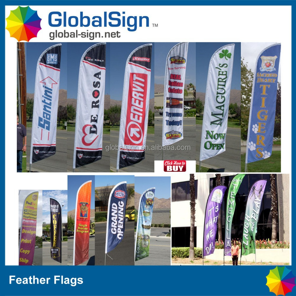 Very popular flying flags from shanghai globalsign