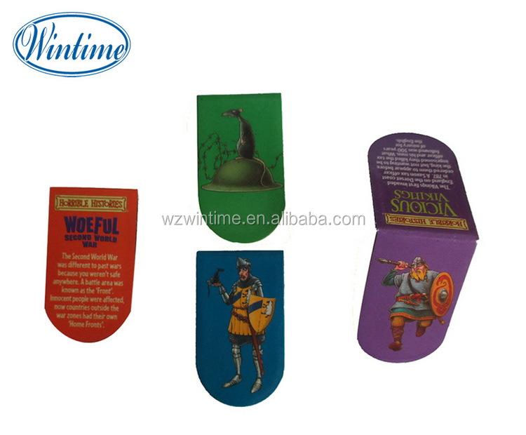 Presentes artesanais marcador ímã