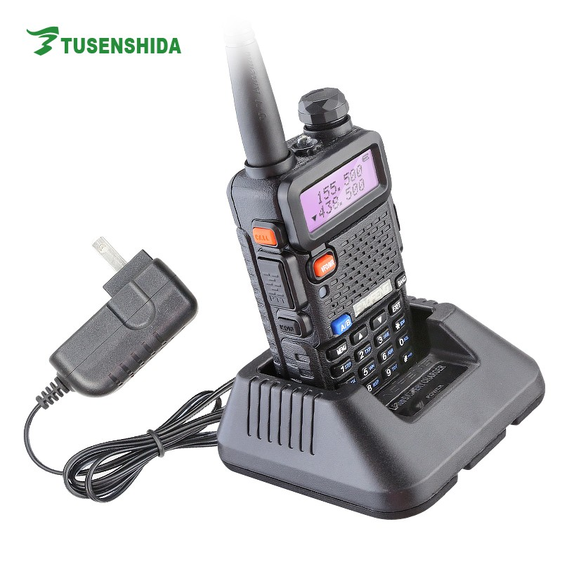Baofeng UV-5r walkie talkie dual band vhf&uhf am fm portable radio фото