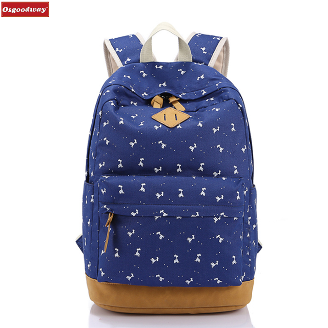Osgoodway China wholesale 2019 new arrivals waterproof Lightweight College girls School bags for travel study