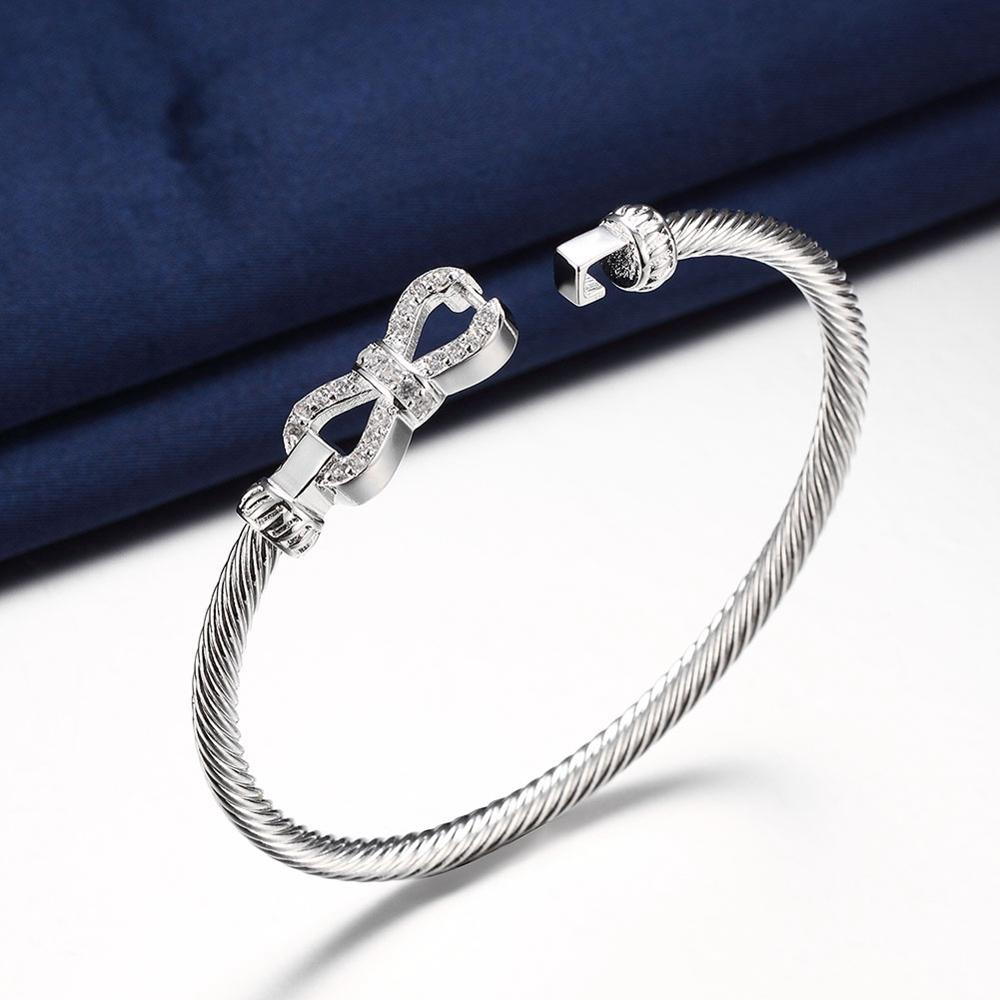 large bracelets shipping item free bangles popular bangle plated in sterling mesh new from bracelet silver fashion jewelry