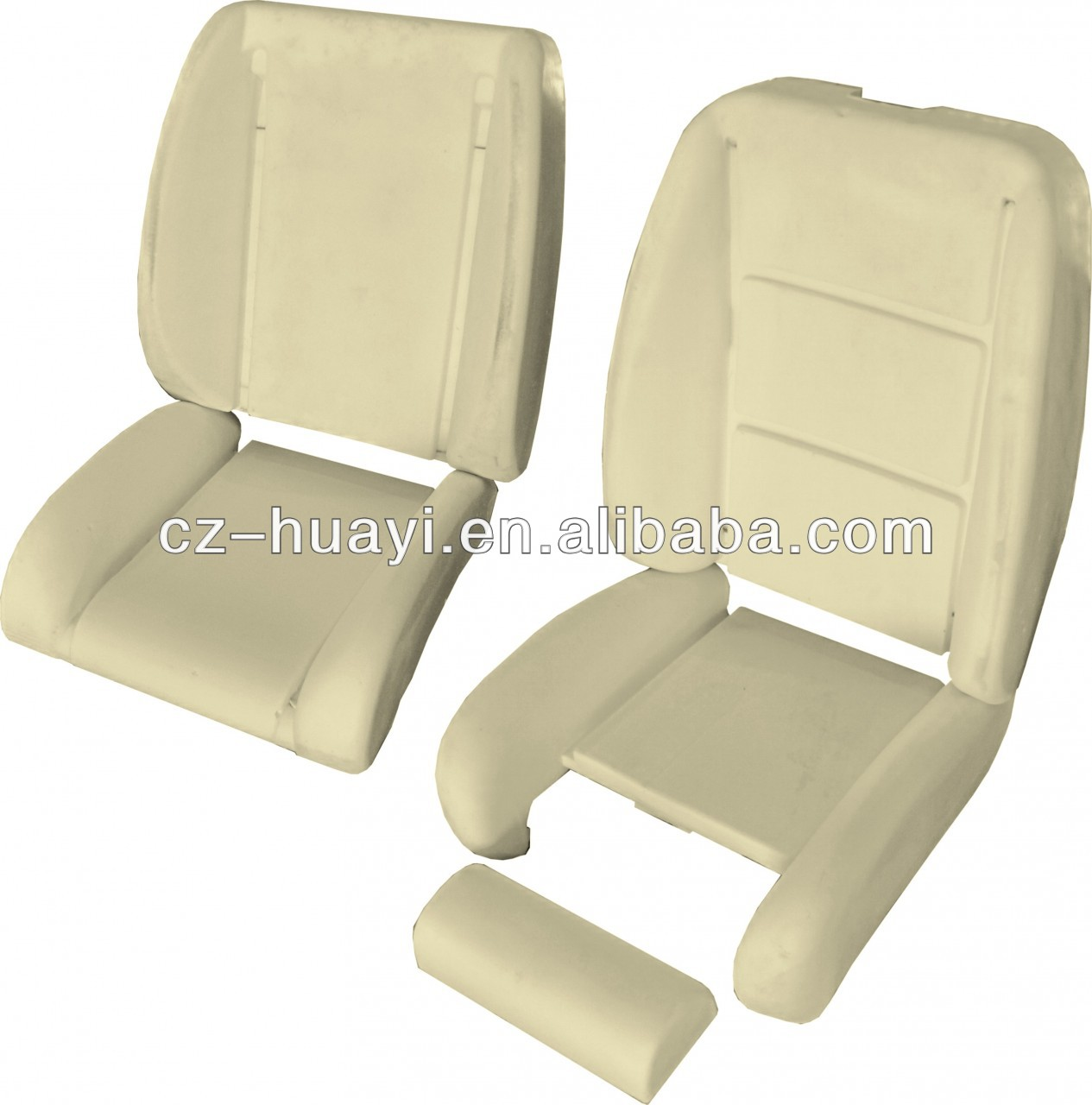 Ergonomic Car Seat Upholstery Fabric Foam Motorcycle Seat Foam