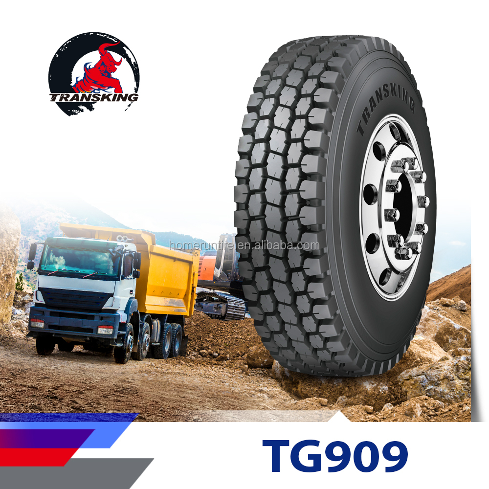 ON/OFF road TRANSKING 11R22.5 drive tires for sale