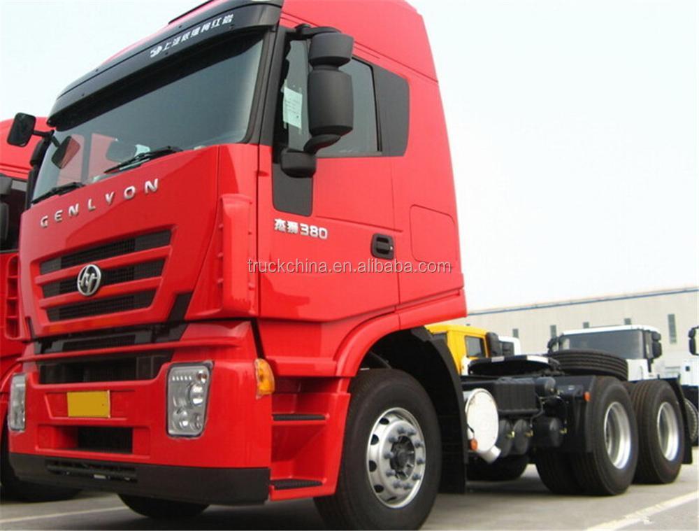 Hongyan Genlyon 6x4 Tractor Truck Brand New Trailer For